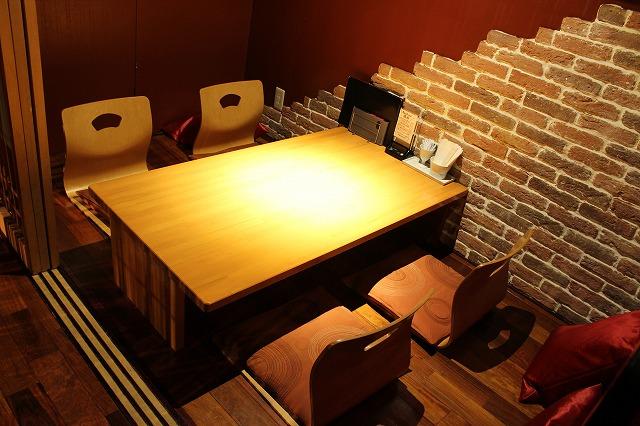 個室 店内ギャラリー 長崎佐世保市 下京町 隠れ家 和食ダイニング橘川